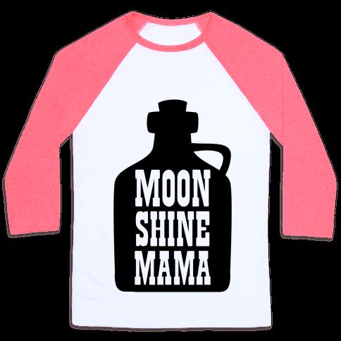 Moonshine Mama Baseball Tee