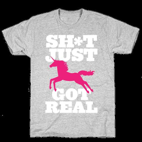 Keeping it Real Mens T-Shirt