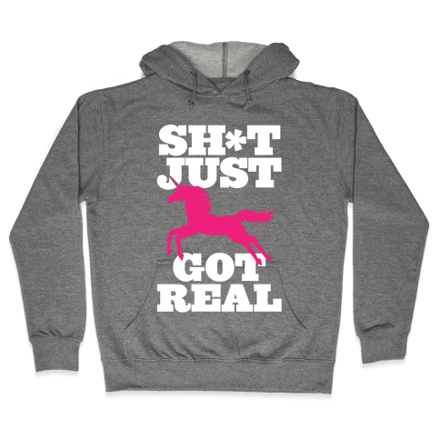 Keeping it Real Hooded Sweatshirt