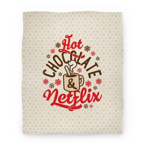 Hot Chocolate And Netflix Blanket