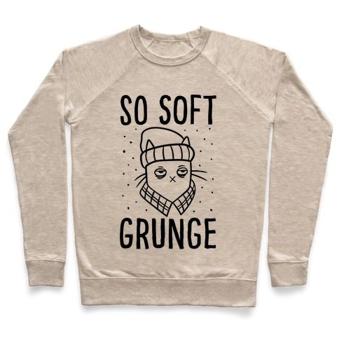 Soft Grunge Cat Pullover