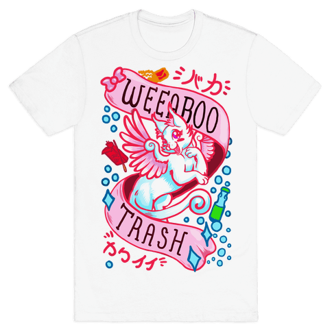 Weeaboo Trash Mens T-Shirt
