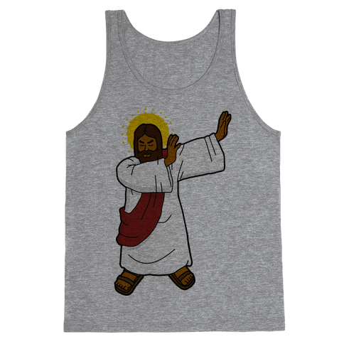 Dabbing Jesus Tank Top