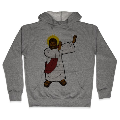 Dabbing Jesus Hooded Sweatshirt