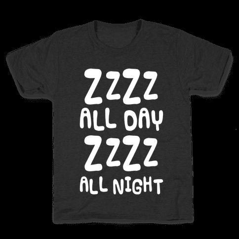 ZzZz All day Kids T-Shirt