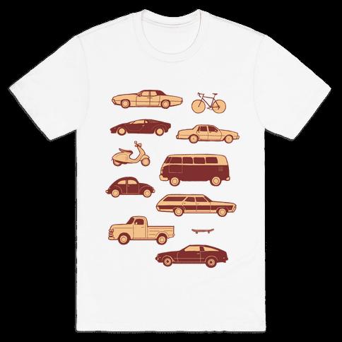 Let's Ride Mens T-Shirt