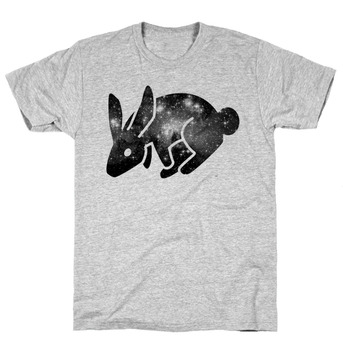 Cosmic Bunny Mens T-Shirt