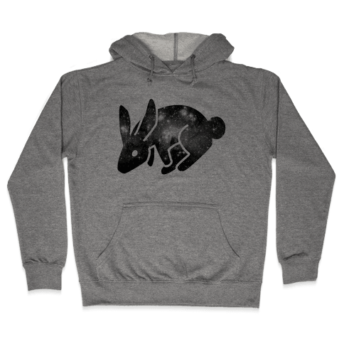 Cosmic Bunny Hooded Sweatshirt