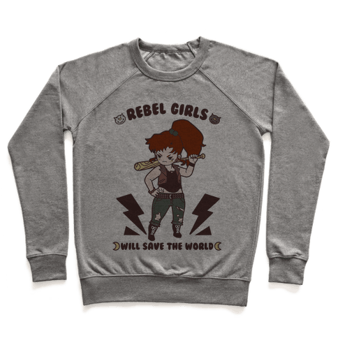 Rebel Girls Will Save The World Jupiter Parody Pullover
