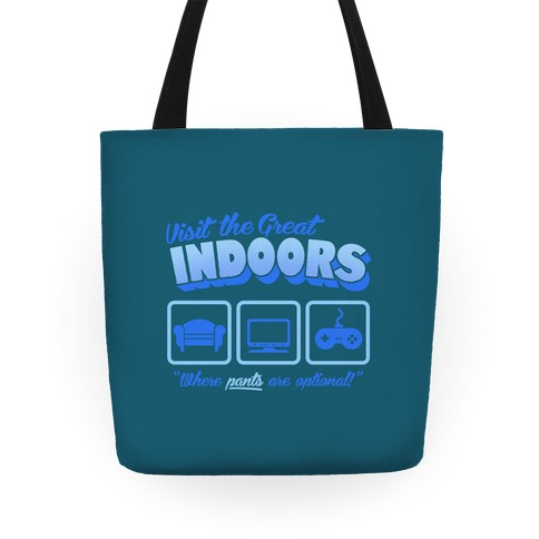 Visit The Great Indoors! Tote
