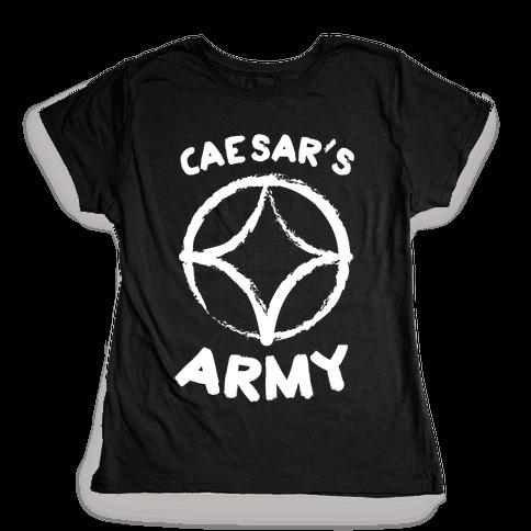 Caesar's Army Womens T-Shirt
