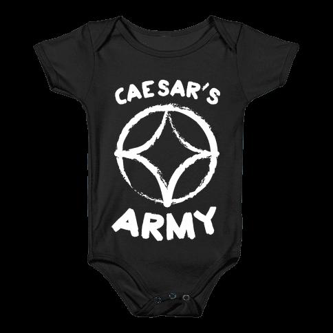Caesar's Army Baby Onesy