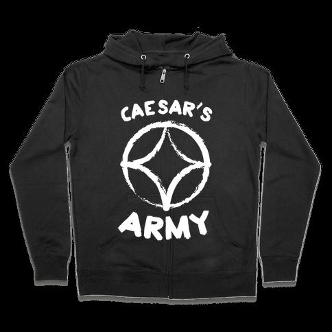Caesar's Army Zip Hoodie