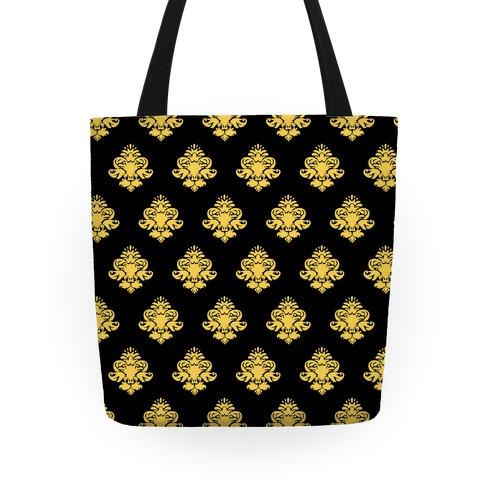 Classy Black and Gold Tote Tote
