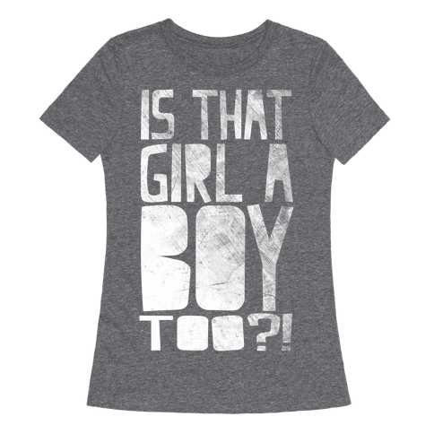 Is That Girl A Boy Too?!