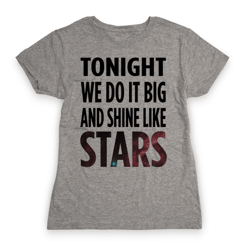 Shine Like Stars Womens T-Shirt