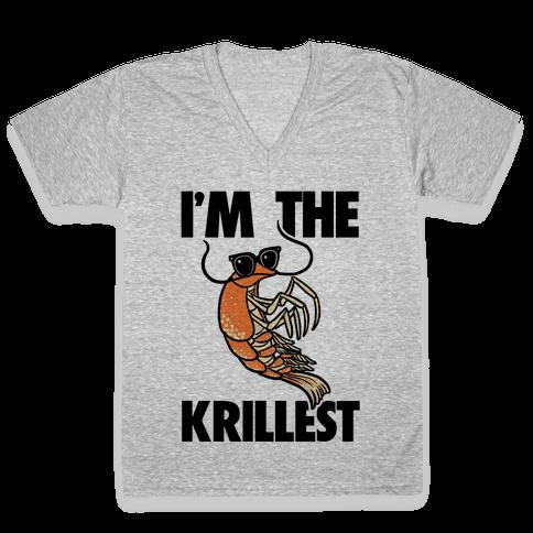 I'm the Krillest V-Neck Tee Shirt