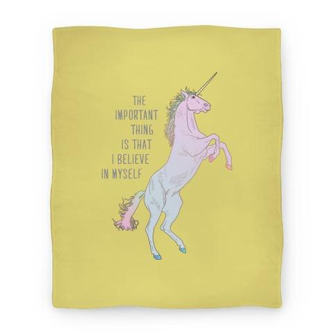 I Believe In Myself Blanket Blanket