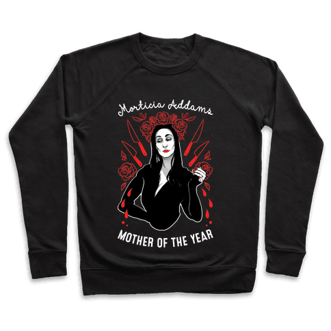 Morticia Addams Mother of the Year Pullover