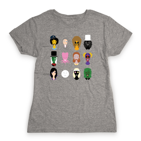 Many Faces of Fielding Womens T-Shirt