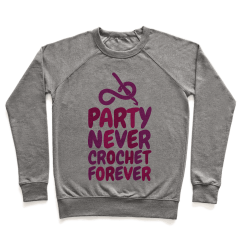 Party Never Crochet Forever