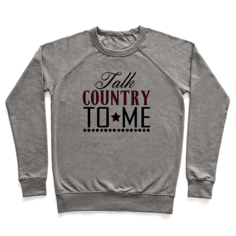 Talk Country Pullover