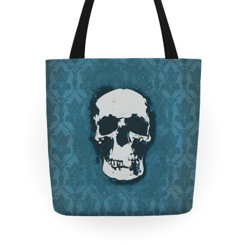 Sherlock Pop Skull Tote