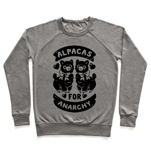 Alpacas For Anarchy Pullover
