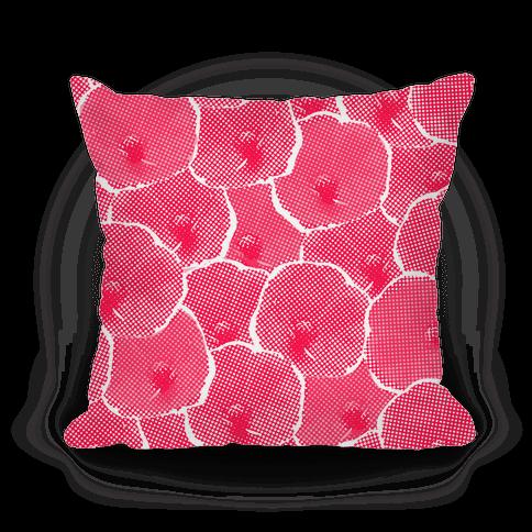 Pink Poppy Flower Pattern