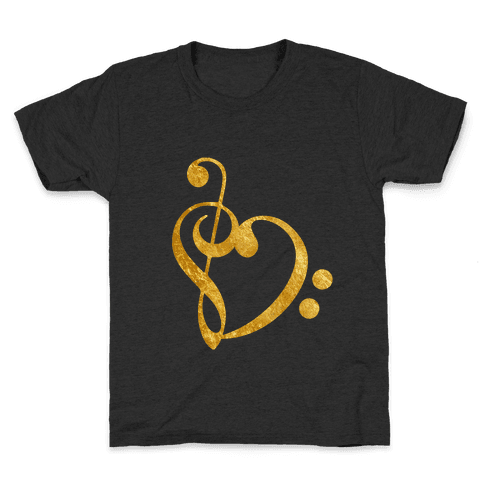 Musical Heart Kids T-Shirt