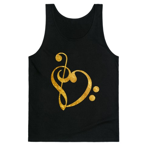 Musical Heart Tank Top