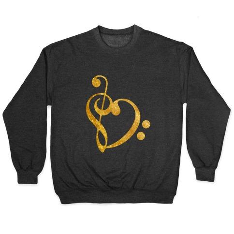 Musical Heart Pullover