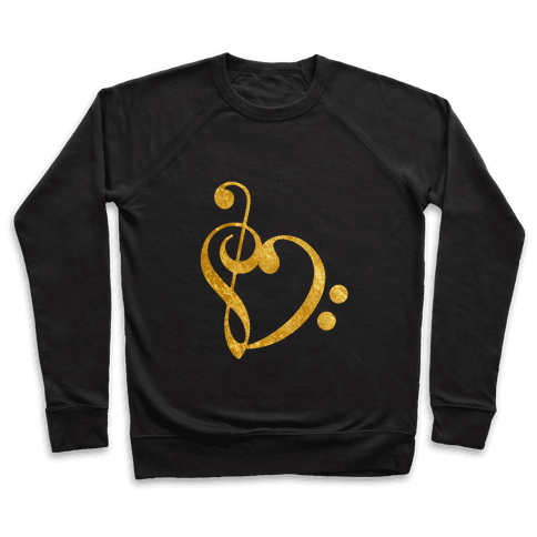 Musical Heart Pullover