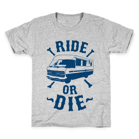 RV Ride Or Die Kids T-Shirt