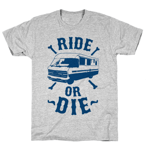 RV Ride Or Die Mens T-Shirt