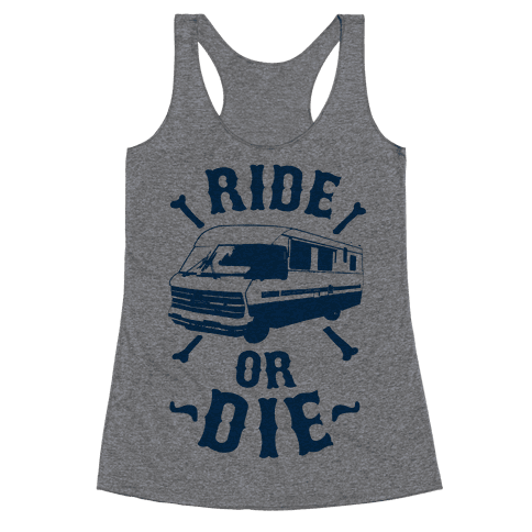 RV Ride Or Die Racerback Tank Top
