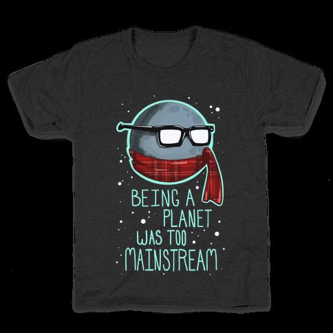 Hipster Pluto Kids T-Shirt