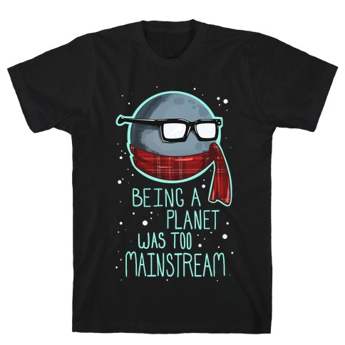 Hipster Pluto T-Shirt