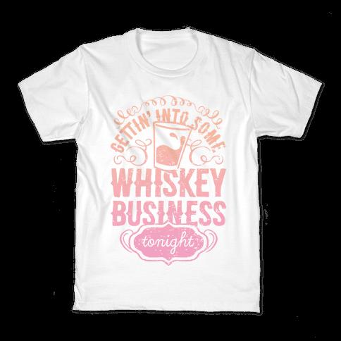 Whiskey Business Kids T-Shirt