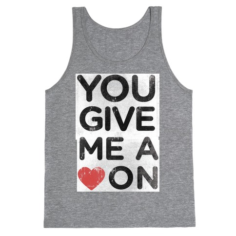 Heart On Tank Top