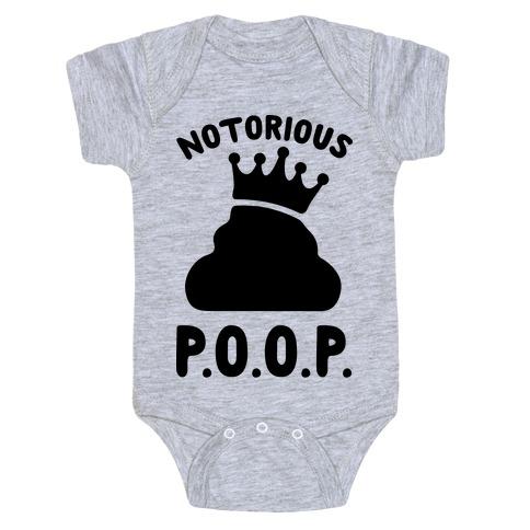Notorious P.O.O.P. Baby Onesy