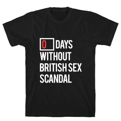 British Sex Scandal Mens T-Shirt