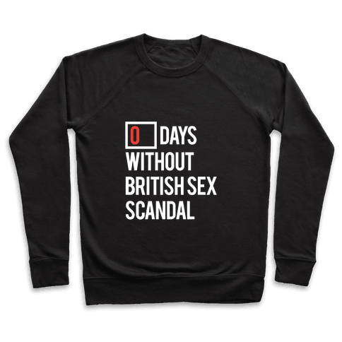 British Sex Scandal Pullover
