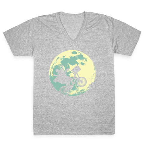 Extra Terrestrial  V-Neck Tee Shirt