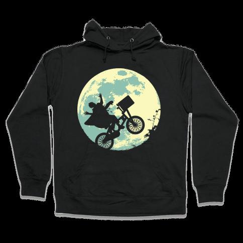 Extra Terrestrial  Hooded Sweatshirt