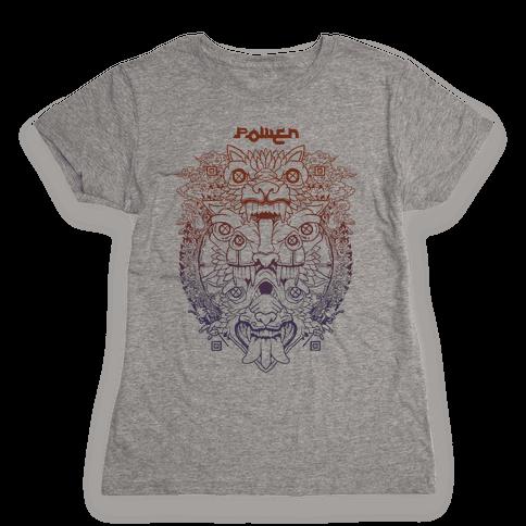 Power Womens T-Shirt