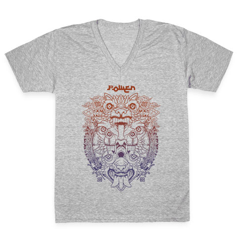 Power V-Neck Tee Shirt