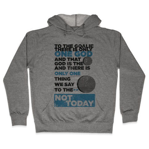 The Puck is God Hooded Sweatshirt