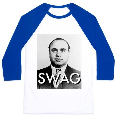 Al Capone Alternate Swag Baseball Tee