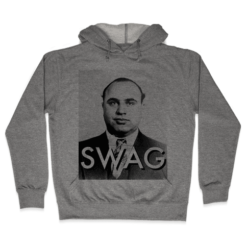 Al Capone Alternate Swag Hooded Sweatshirt